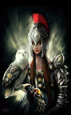 Athena by DZIU09