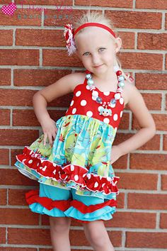 Anna's Sweetheart Halter Top and Dress PDF Pattern size 6-12 months to size 8. $10.00, via Etsy.