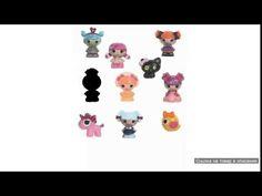 Набор 10 кукол Малюток Tinies Lalaloopsy (Лалалупси)
