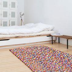 Handmade Wool-Felt Carpets