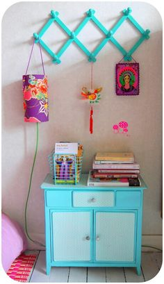 interior Salle Pastelle, Pastel Room, Colorful Decor, Bunt, Painted Furniture, Color Pop, Creative, Kids Room, Colours