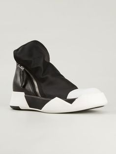Cinzia Araia Side Zip Hi-top Sneakers - Gigi Tropea - Farfetch.com