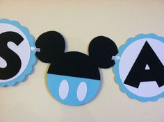mickey mouse baby shower | Mickey Mouse Baby shower banner - Its a boy, ready to pop, baby boy ...