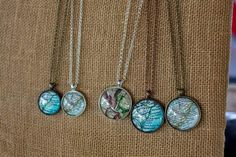 Charleston Map pendants found at Bazaar at the Point in Mt. Charleston Style, Turquoise Necklace, Pendants, Pendant Necklace, Diy, Shopping, Jewelry, Fashion, Moda
