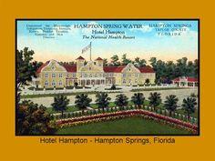 Hampton Springs Florida Hotelsresortsvacation