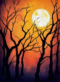 halloween art lessons - Google Search