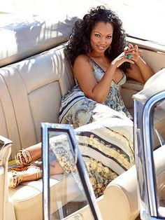 Beautiful Black Women, Most Beautiful, Garcelle Beauvais, Caribbean Queen, Warrior Princess, Real Women, American Actress, Spring Outfits, Black Tops
