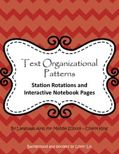 Which organizational structure best matches the author's purpose?