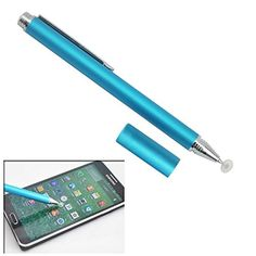 Adoni The Most Precise Disc Stylus Unique Fine Point Stylus Design Screen Touch PenNet Weight 22 Gramsfor Apple iPadAiriPad iPad 2iPad 3iPad 4iPad MiniiPodGalaxy S4Galaxy S3Galaxy TabKindle FireGoogle NexusCellphonesSmart CellphonesTabletsiPhone5SiPhone5iPhone4SiPhone4iPhone3GiPhone3GSiPod TouchiPad2iPad3SONY PlaystationPSPPSVITAMotorola XoomSamsungSamsung Galaxy BlackBerryPlaybook AMM0101US Barnes and Noble Nook Lightblue ** You can find out more details at the link of the image.