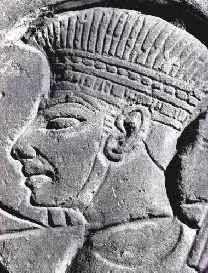 TOG Unit 2 Week 17: The Rise of Saul and the Philistines  Philistine Head Dress from Medinet Habu
