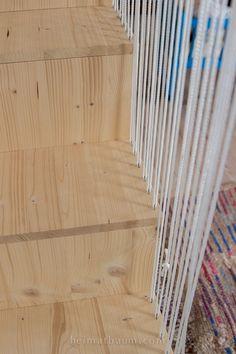 Diy Storage Space, Bed Storage, Wonderwall, Girls Bedroom, Kids Room, New Homes, Stairs, Loft, House Design