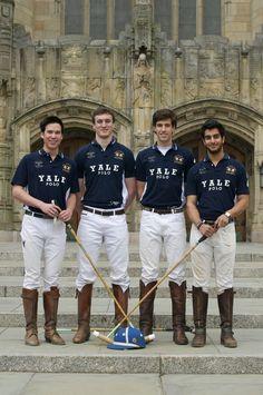 Yale ivy leaguers ... Polo team!