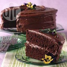 To try: Secret ingredient chocolate cake
