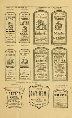 King George Halloween Bottles, Halloween Labels, Halloween Apothecary, Halloween Diy, Decoupage, Vintage Labels, Vintage Ephemera, Printable Labels, Free Printables