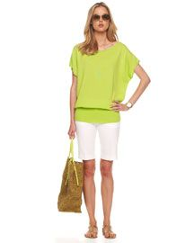 Airplane, taxi, resort, swanky lunch, stroll down the boardwalk...this look is perfect anywhere under the sun!