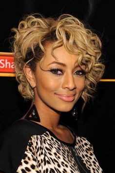 Love the cut, color, and curls.