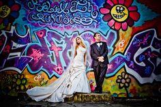 Graffiti Wedding! Bleu Photography Studio in New Jersey