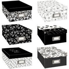 Adorama Oversized Print Storage Box 15.5 Wide x 12 deep x 5 high Holds 1700 4x6 Photos Black