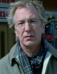 "Alan Rickman as Alex Hughes in ""Snow Cake"" 2006"