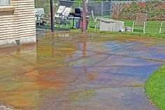 Concrete Sealing, coloring, designs, stain, decorative cement, and all of your existing cement maintenance needs!