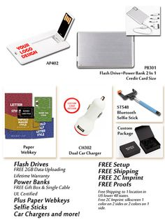 Hot Paper Webkeys, Power Bank USB Drive Combo, USB Drives, Chargers and More from your 5 Star Source - Call Today for More Information!  - http://www.verticallysocial.com/2015/04/22/hot-paper-webkeys-power-bank-usb-drive-combo-usb-drives-chargers-and-more-from-your-5-star-source/