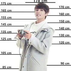 compare v height with yours! / I'm right under this eye keke