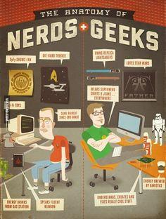 Nerd vs. Geeks