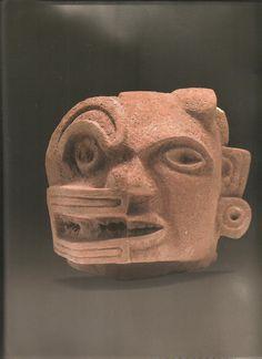 """mascara dualidad zapoteca """"Cuerpo y Cosmos"""" 2004"""