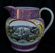 Sunderland Lusterware Pitcher