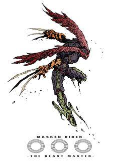 Kamen Rider Ooo, Kamen Rider Series, Armor Concept, Concept Art, Character Concept, Character Art, Japanese Superheroes, Super Hero Outfits, Gundam Art