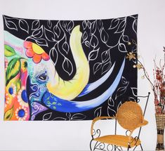 Mandala Tapestry Polyester Wall Tapestry Indian Elephant Tapestry Home Decoration Carpet Wholesale toalla mandalas playa Bohemian Wall Tapestry, Tapestry Beach, Indian Tapestry, Tapestry Wall Hanging, Bohemian Dorm, Colorful Tapestry, Tapestry Bedroom, Mandala Blanket, Mandala Tapestry