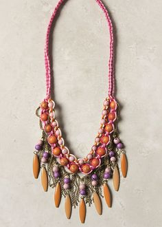 Anthropologie necklace #home #jewelry #africa
