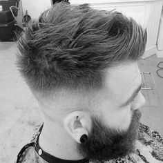 Image result for mens hairstyles thick hair