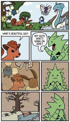 Poor Tyranitar  | For more #cool #funny #gif #gags #comic #cute #adorable #meme #humor like this , visit CheeseFeed.co/ :)