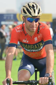 Italy's Vincenzo Nibali from Team BahrainMerida preparing for the Ras Al Khaimah Stage 190 km second stage of Tour of Dubai 2018 with a start from...