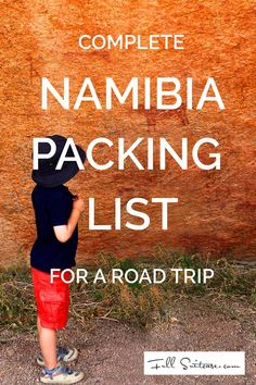 While in most countries you can easily buy anything you need during your trip, you will not find many shops in rural Namibia. Good preparation will spare you frustration and make your trip more comfortable. Whether you are planning to drive across the whole country or go to Namibia for a couple of days, take a look at this packing list of the essential items...