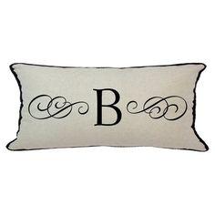 D'Kei Personalized Alphabet Graphics Pillow - P12-M112-300D