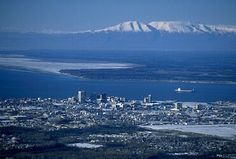 Port of Anchorage Webcams - Downtown Anchorage (East View) Webcam ...