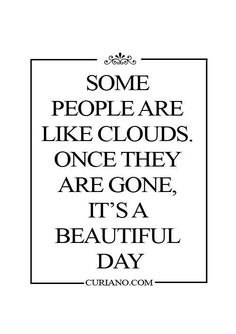 Omg yes!!!! I have a couple clouds that are toxic and I just need to get rid of!