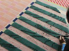 Celebrating Color, Pattern. Alex Proba + cc-tapis