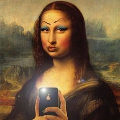 night time✖️Mona Lisa [Stef et Mag] (Gioconda / Mona Lisa)✖️Fosterginger.Pinterest.Com.✖️More Pins Like This One At FOSTERGINGER @ Pinterest ✖️No Pin Limits✖️