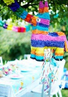 Mexican party must have! The traditional pinata!