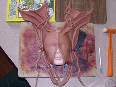 How to mold leather masks