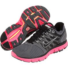 Cute pink running shoes...I need a new pair for boot camp.