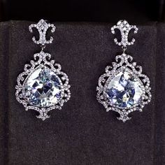 Zircon Earring JHZ-325 USD60.86, Click photo to know how to buy / Contact me for discount, follow board for more inspiration