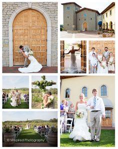 Wedding at Villa Bellezza Winery and Vineyard in Pepin, Wisconsin