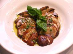 Grilled mushrooms from Chef Sal Scognamillo,  Patsy's Italian Restaurant. (Courtesy of Patsy's Italian Restaurant)