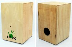 Make a cajon.    I knew these things couldn't be that difficult to build. http://phattyphattyboomboom.com/
