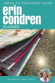 Ideas to organize your Erin Condren planner that will make any teacher happy!