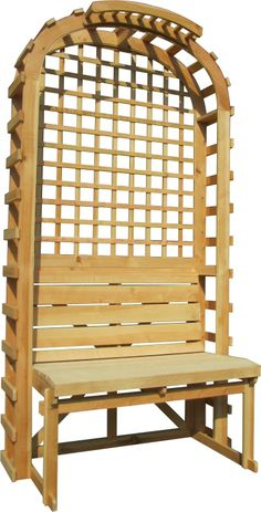 corner trellis bench woodworking plan this stylish triangular